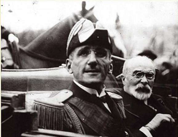 Kralj Aleksandar i francuski ministar Luj Bartu