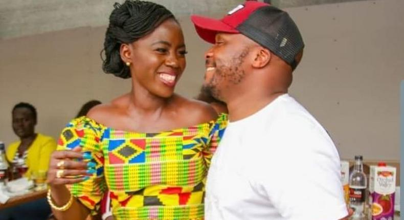 Akothee with Jalang'o. Jalang'o lists Akothee's crazy demands ahead of her Performance at Luo Festival