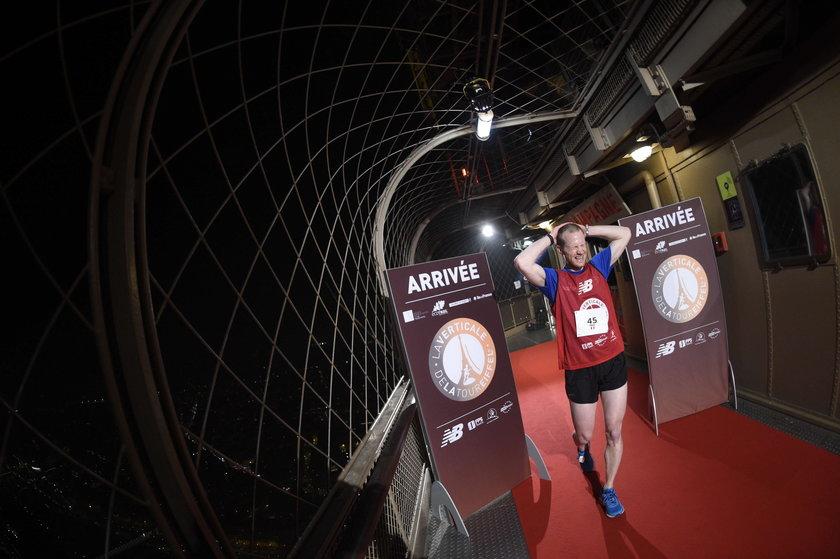 Wielki sukces polskiego biegacza! Najszybciej wbiegł na... Wieże Eiffla!