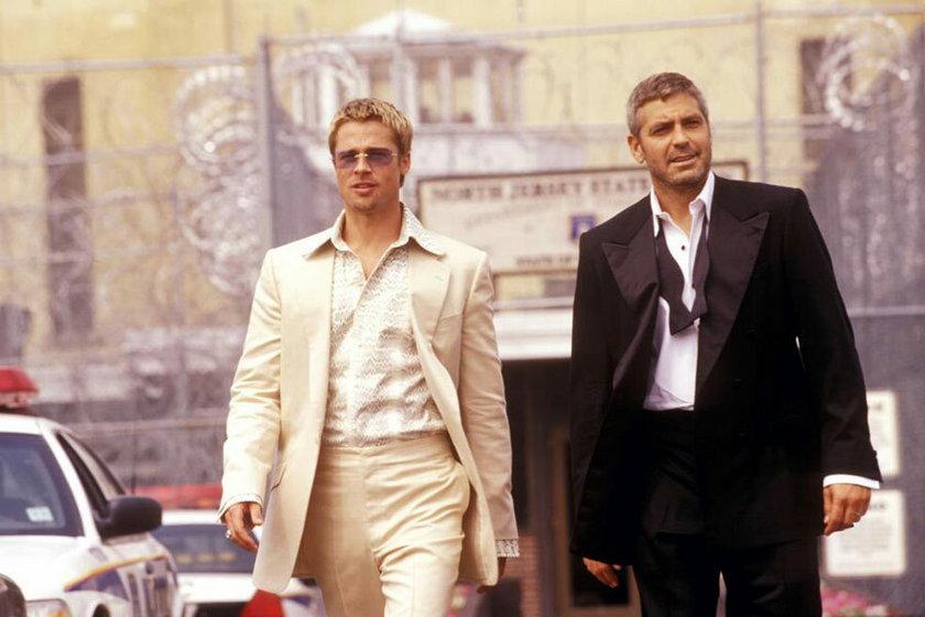 "George Clooney w ""Ocean eleven"""