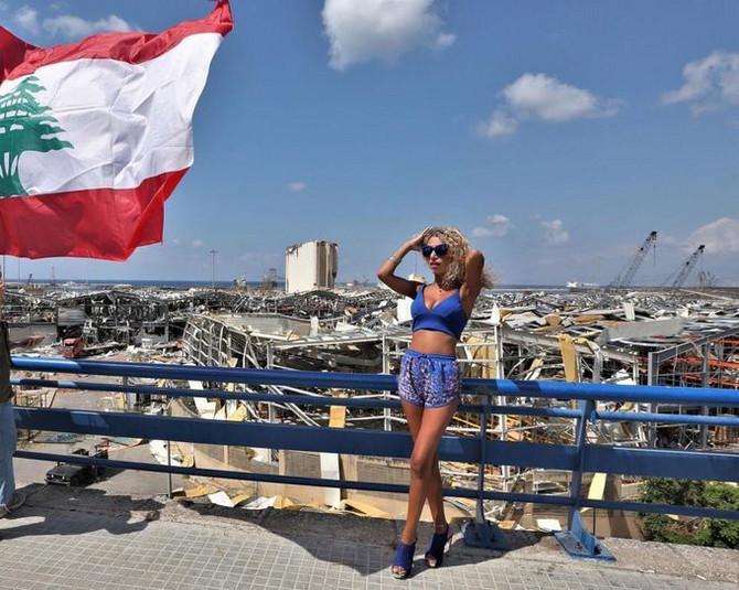 Šokanta fotografija iz Bejruta
