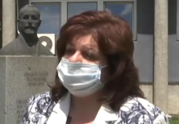 dr Marija Gavrilović, direktorka Zavoda za javno zdravlje Valjevo