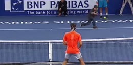 Dziecko ośmieszyło Federera!