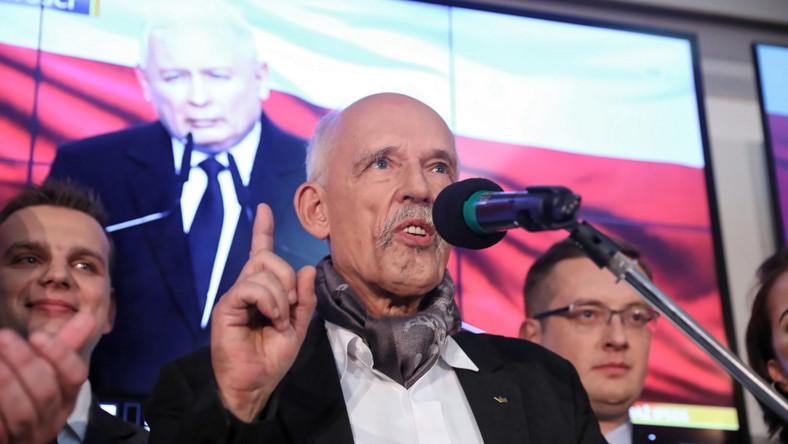 wybory Janusz Korwin-Mikke
