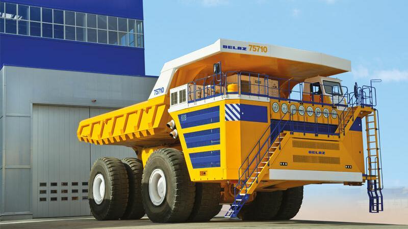 Ciężarówka Biełaz 75710