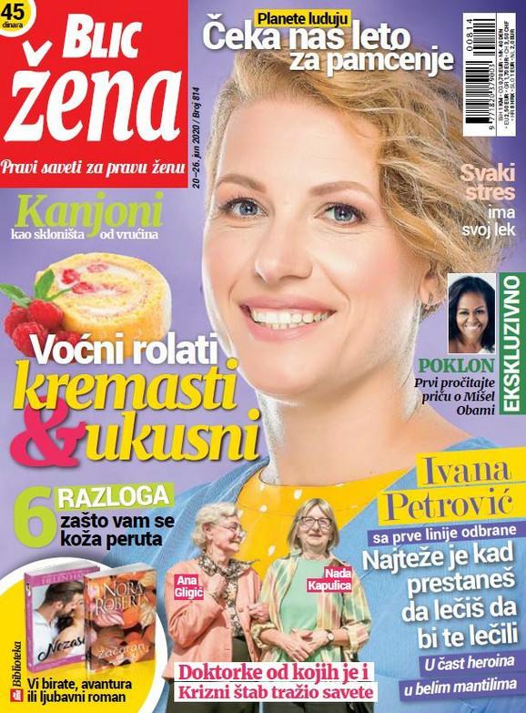 Naslovna Blic Žena 814