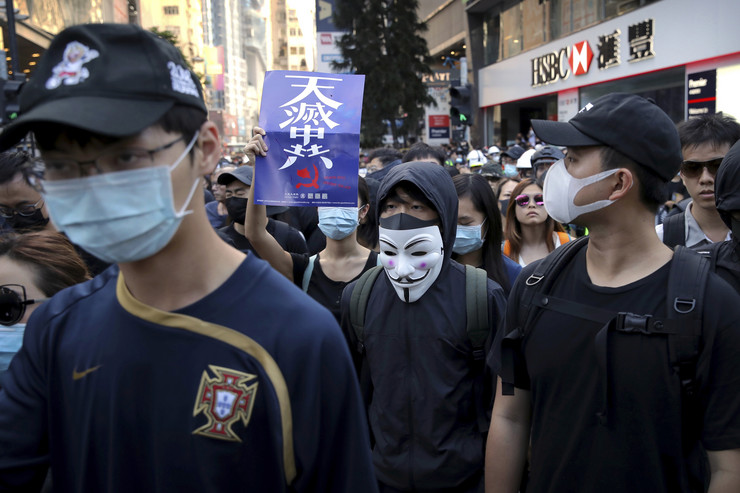 Hong Kong protest 02.11.