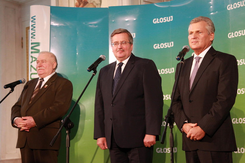 Byli prezydenci apelują do premiera i prezydenta