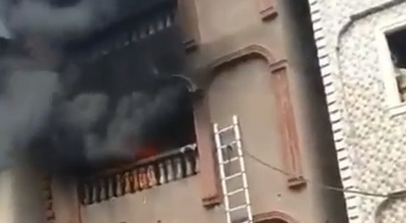 Another fire outbreak in Dosunmu, 5 hours after Balogun Market incident in Lagos