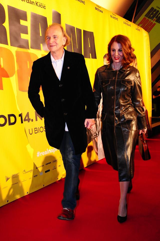 Svetozar Cvetković i Jelena Dokić
