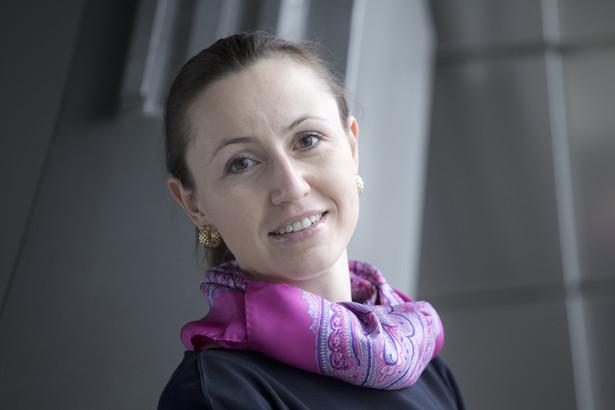Profesor Katarzyna Bilewska, adwokat, kieruje zespołem sporów korporacyjnych w kancelarii Salans