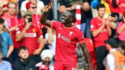 Liverpool: Sadio Mané célèbre son 100e but