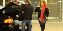 Prezes UKE służbową limuzyną na lotnisko i do Burkina Faso