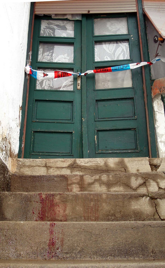 Stepenice na kojima je nađeno Srđanovo beživotno telo