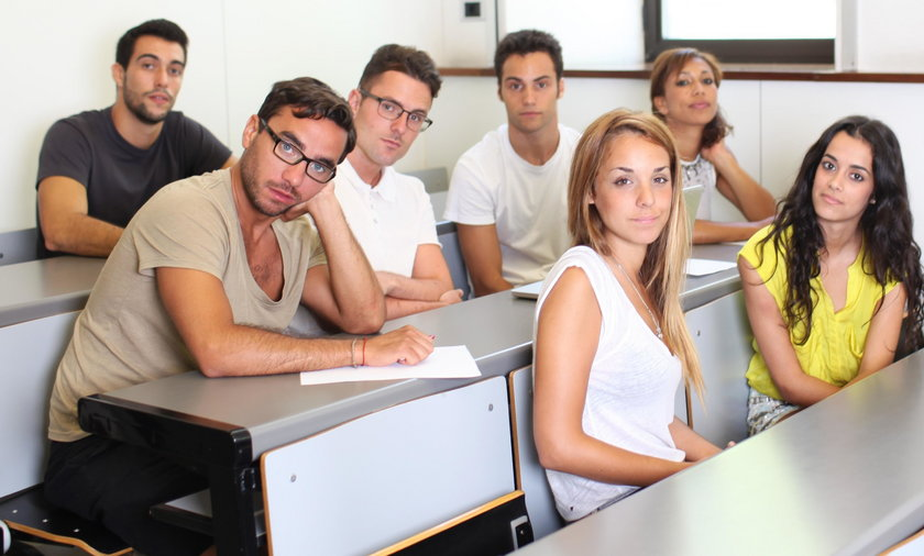 Studenci, studia, nauka, szkoła