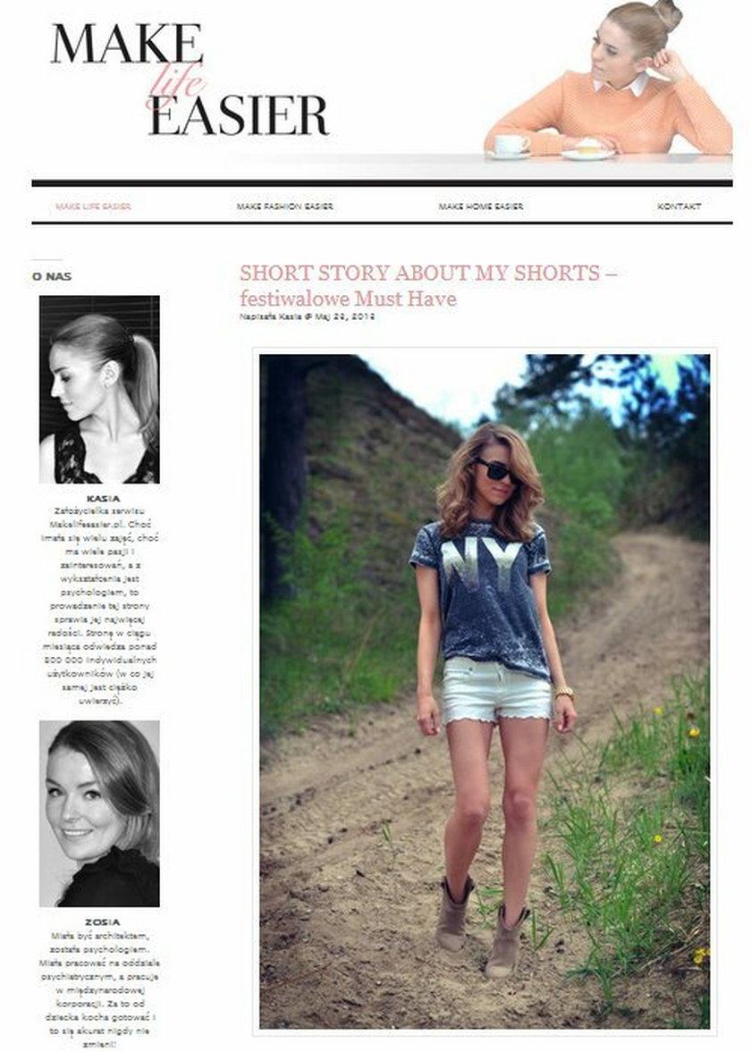 Kasia Tusk blog