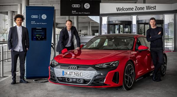 Audi elektryfikuje FC Bayern Monachium