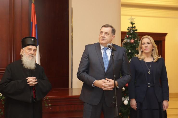 Milorad Dodik Cvijanovic i Irinej