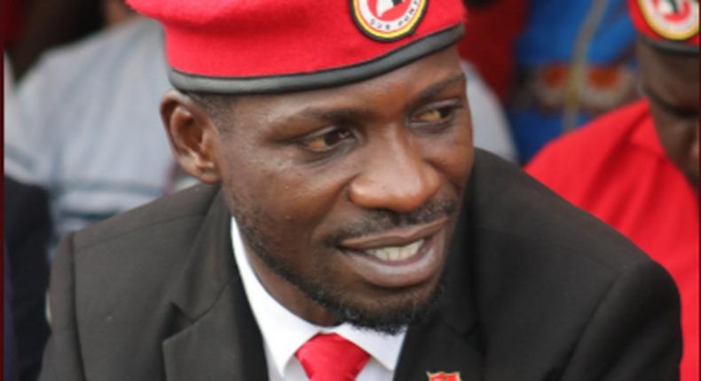 Robert Kyagulanyi popularly known as Bobi Wine.