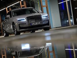 Rolls-Royce Ghost – zjawa iście zjawiskowa