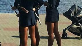 Policjantki ukarane za krótkie spódniczki