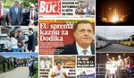 """EuroBlic"" za 26.7. SAZNAJEMO Nemačka najglasniji zagovornik KAŽNJAVANJA DODIKA, odluka za 2 meseca"