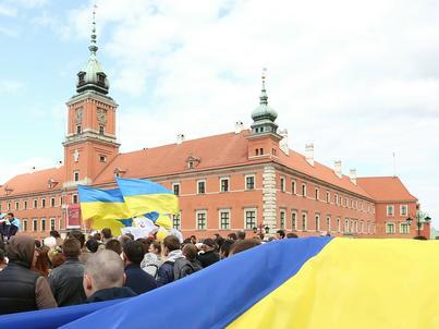 Warszawa, 17.05.2015 Druga edycja Polskiego Marszu Solidarności z Ukrainą