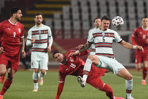 Neobičan potez i JOŠ ČUDNIJE OBJAŠNJENJE! Portugalci napravili veliku promenu pred odlučujući meč sa Srbijom za odlazak na Svetsko prvenstvo