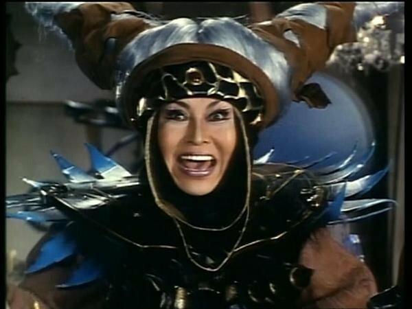 """Rita Repulsa w serialu """"Power Rangers"""""""