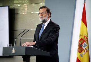 Oświadczenie premiera Hiszpanii. 'Nie będziemy tego tolerować'