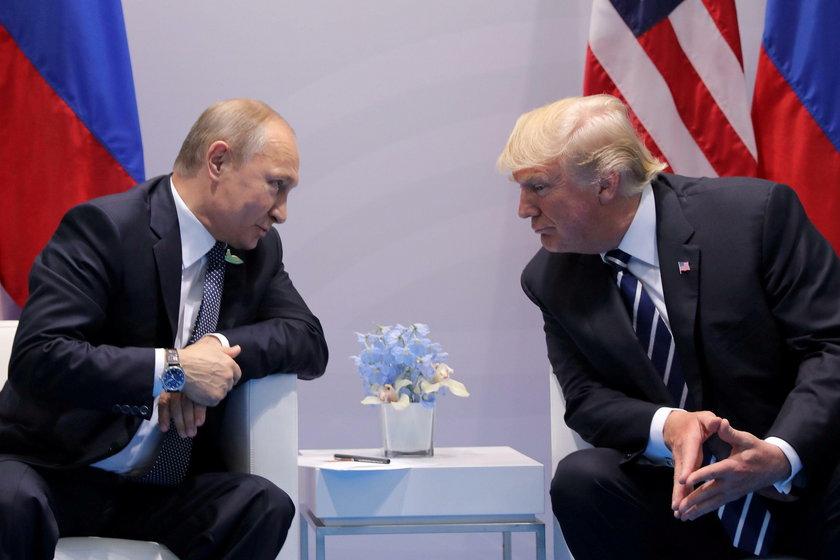 O czym będą rozmawiać Władimir Putin i Donald Trump?