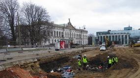 Przy Placu Krasińskich w Warszawie odkryto chatę sprzed 400 lat