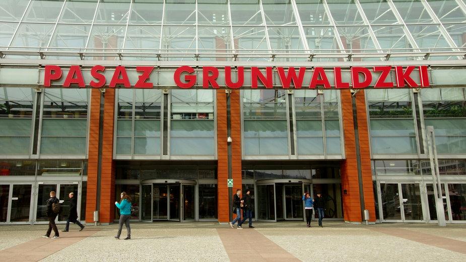 Wrocławskie centrum handlowe przy pl. Grunwaldzkim
