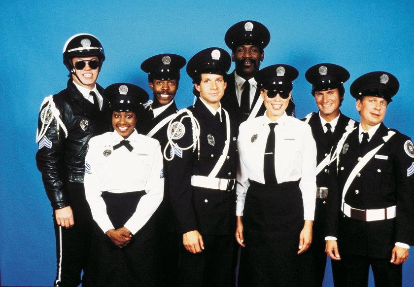 """Marion Ramsey w """"Akademii policyjnej"""""""