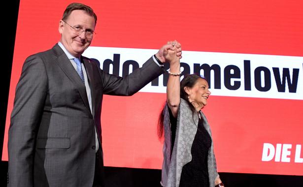 W Turyngii większość głosów przypadła partiom, które negują liberalny ład. Landowi grozi pat i powtórne wybory.