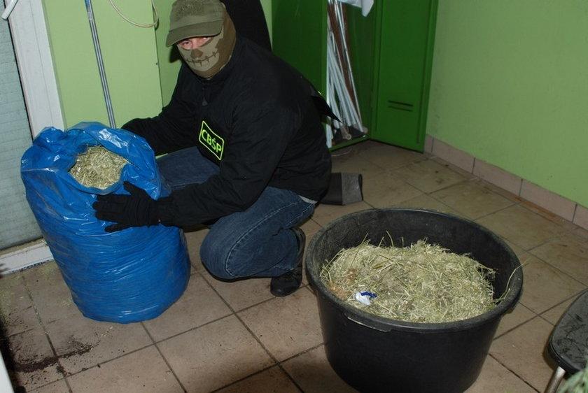 Gigantyczna wytwórnia narkotyków na poznańskim Piątkowie