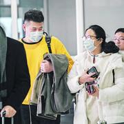 Koronavirus, aerodrom
