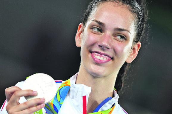 Tijana Bogdanović donela Srbiji dve zlatne medalje