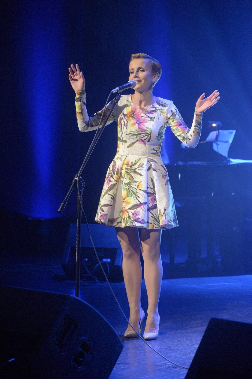 Katarzyna Zielińska w teatrze