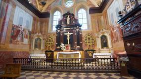 Remont we wnętrzach bazyliki na Świętym Krzyżu