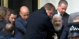 Założyciel Julian Assange WikiLeaks aresztowany