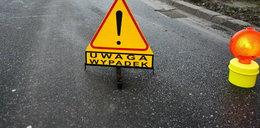 Karambol na drodze Warszawa - Lublin. 31 osób rannych