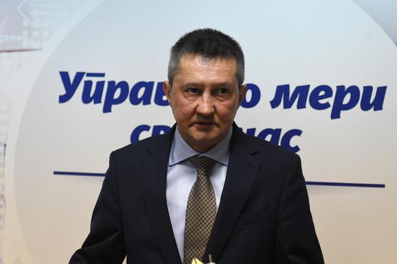 Zoran Mirković, dekan Pravnog fakultetu u Beogradu