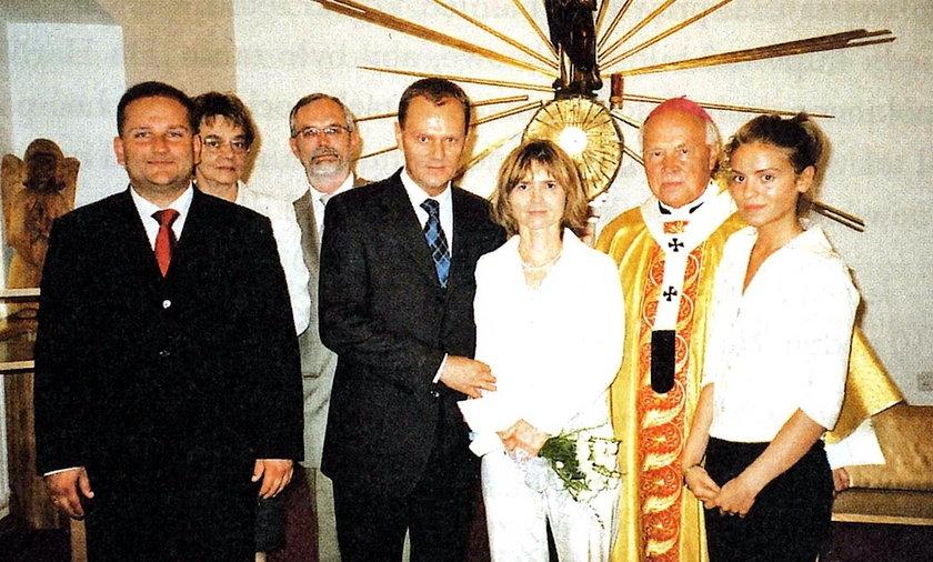 Ślub Donalda Tuska
