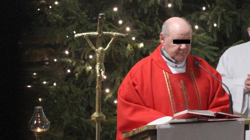 Proboszcz  Ireneusz P.