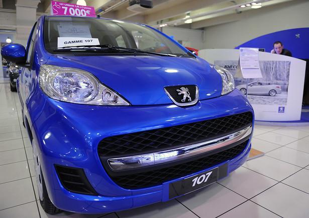 Peugeot 107 Rabat: 6,8 tys. złotych; Cena: 29950 złotych
