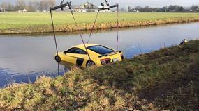 Żółta łódź podwodna, czyli Audi R8 jednak nie pływa
