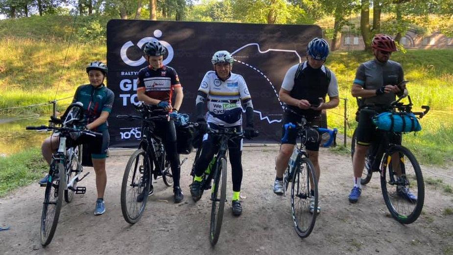 Ze Świnoujścia w Bieszczady na rowerach gravelowych, foto: BB1008