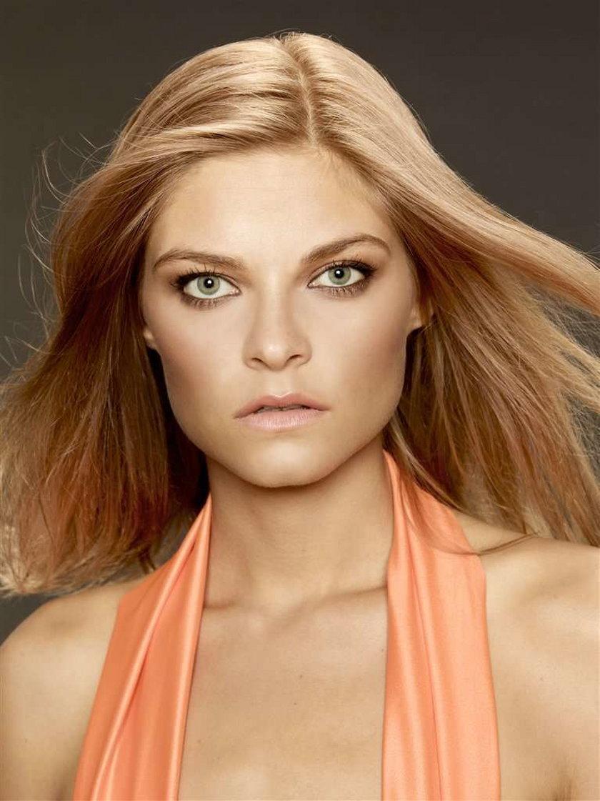 Modelka z Top model twarzą znanej firmy