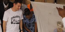 Messi ma swoją... moskitierę